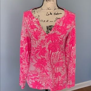 LILLY PULITZER MEDIUM tunic pink